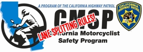 Lane Splitting Rules