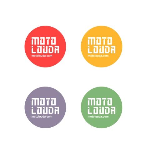 Moto Louda Badges