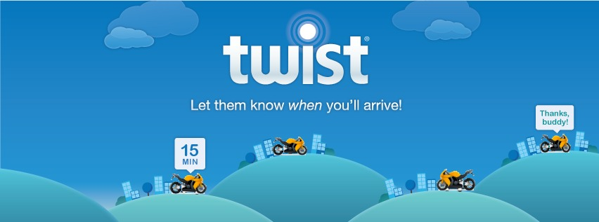 Twist Destination App for your phone