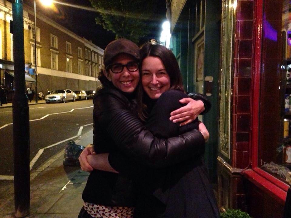 Kate and I at Simmon's Bar