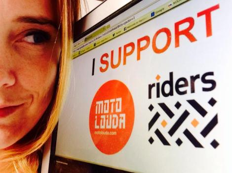 I Support Moto Louda - Cutie Kate