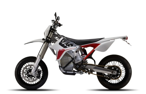 Alta Motors Electric Redshift SM Motorcycle